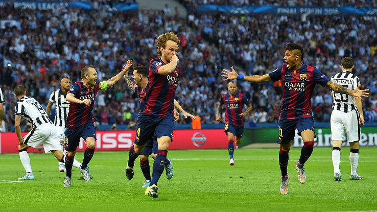 Barcelona seal treble with win over Juventus