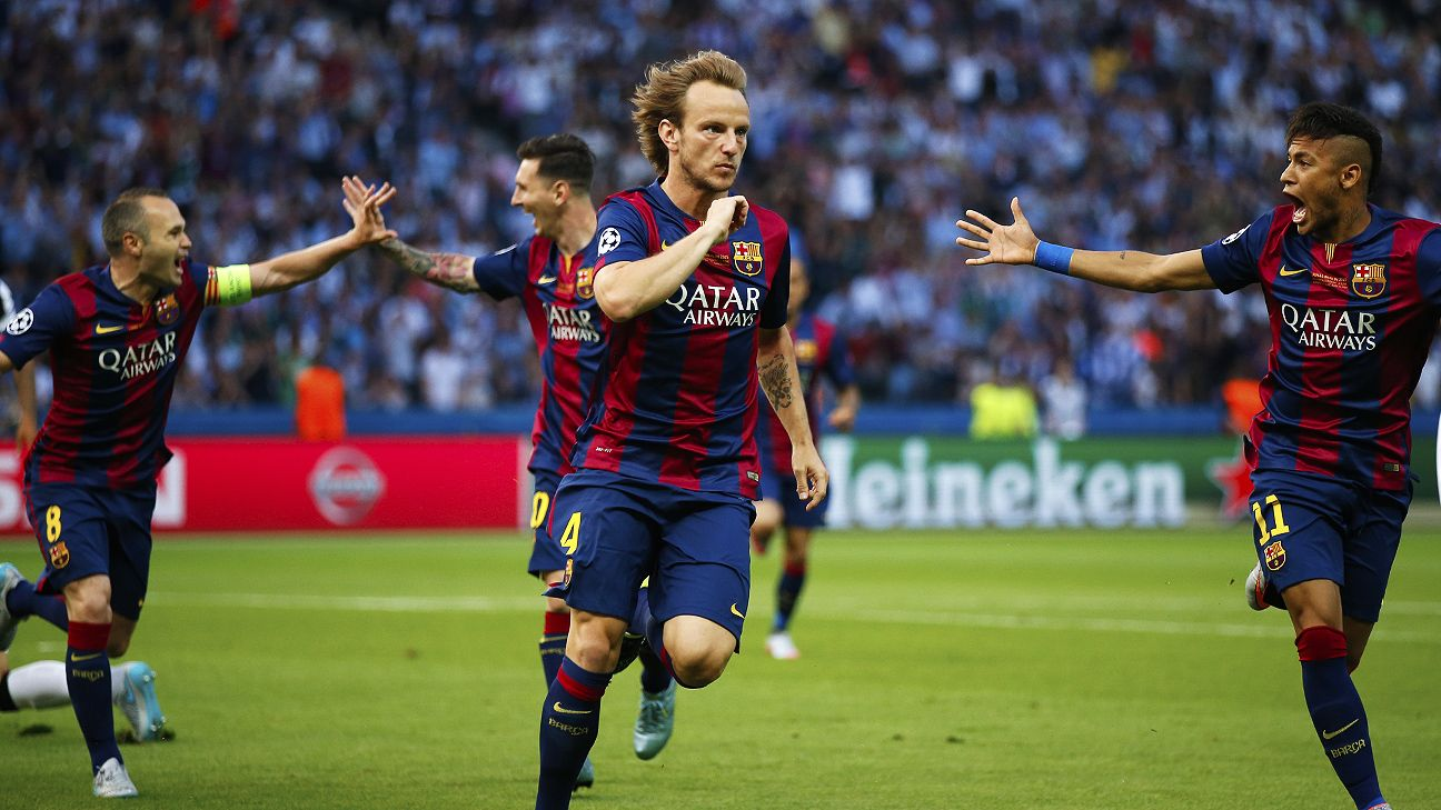 Barcelona star Ivan Rakitic reveals love for Premier League ESPN FC