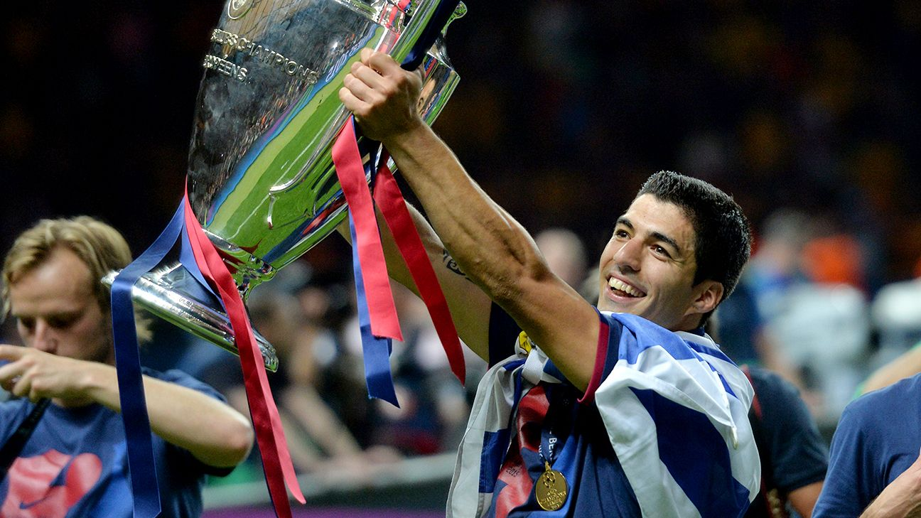 luis suarez has gone from world cup pariah to champions league winner