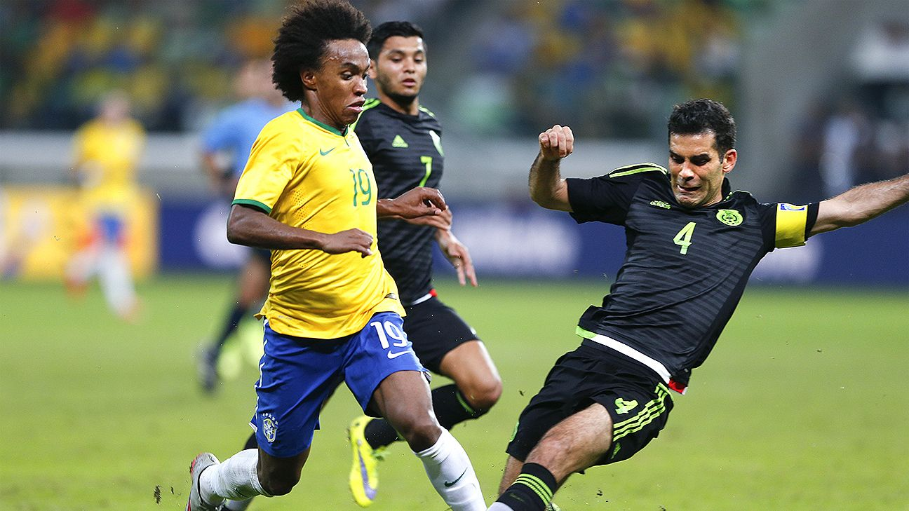 Mexico and Brazil will be no strangers when they meet Monday in Samara.