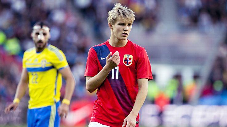 Martin Ødegaard vs Sweden (Home) 14-15 HD