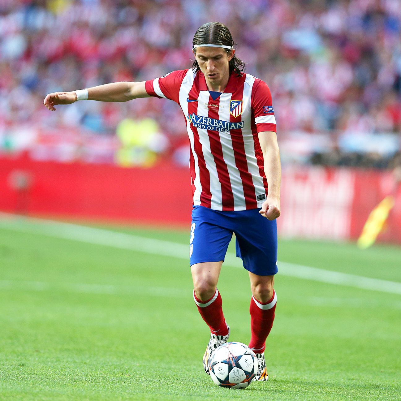 Filipe Luis played a big role in Atletico Madrid's 2013-14 La Liga title success.
