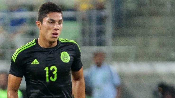 Mexico will be relying on the poise of Carlos Salcedo in defense at the Copa America.