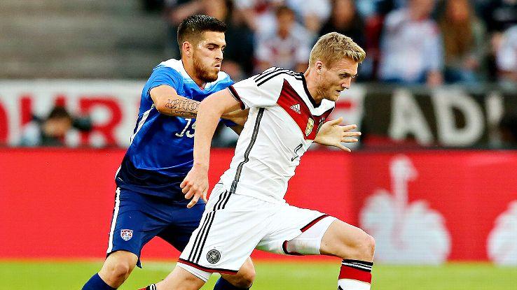 Ventura Alvarado's struggles at center back continued on Wednesday in Cologne.