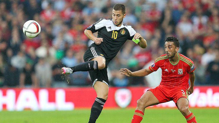 Despite all their firepower, Eden Hazard and Belgium were unable to breach the sturdy Welsh defence.
