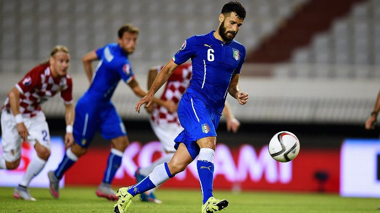 Antonio Candreva's well-taken penalty 'a la Panenka' earned Italy a point in Croatia.
