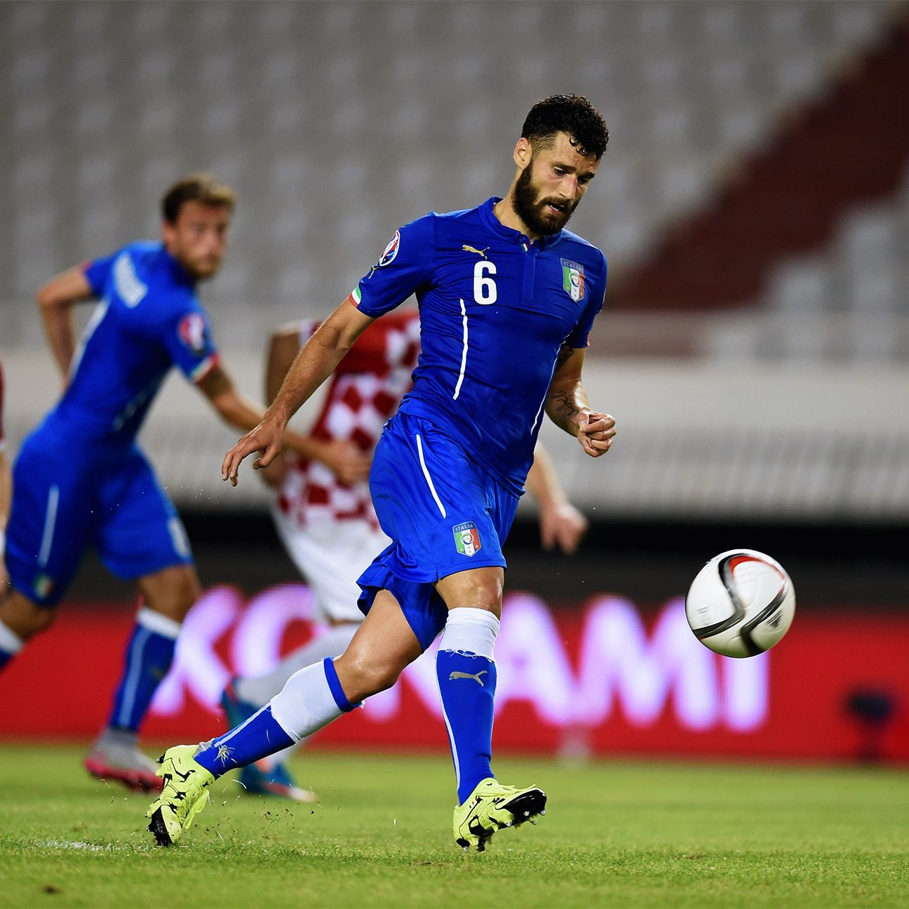 Antonio Candreva's well-taken penalty 'a la Panenka' earned Italy a point in Croatia.