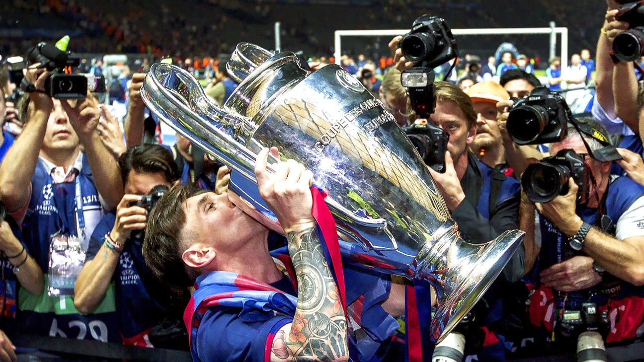 Barcelona ready to celebrate Lionel Messi's 500th appearance
