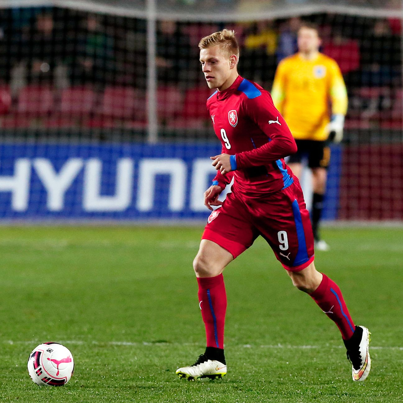 Matej Vydra will shoulder much of the scoring burden for hosts Czech Republic.