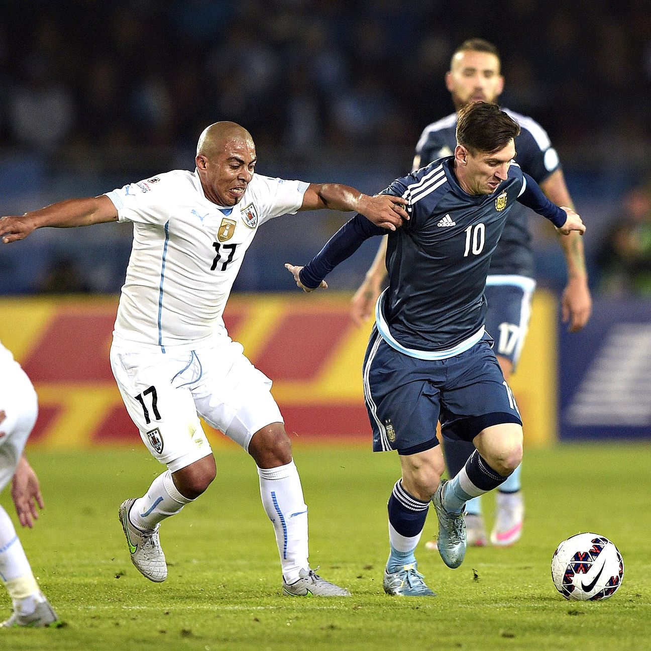 Lionel Messi and the high-powered Argentina attack have been contained thus far in Copa America play.