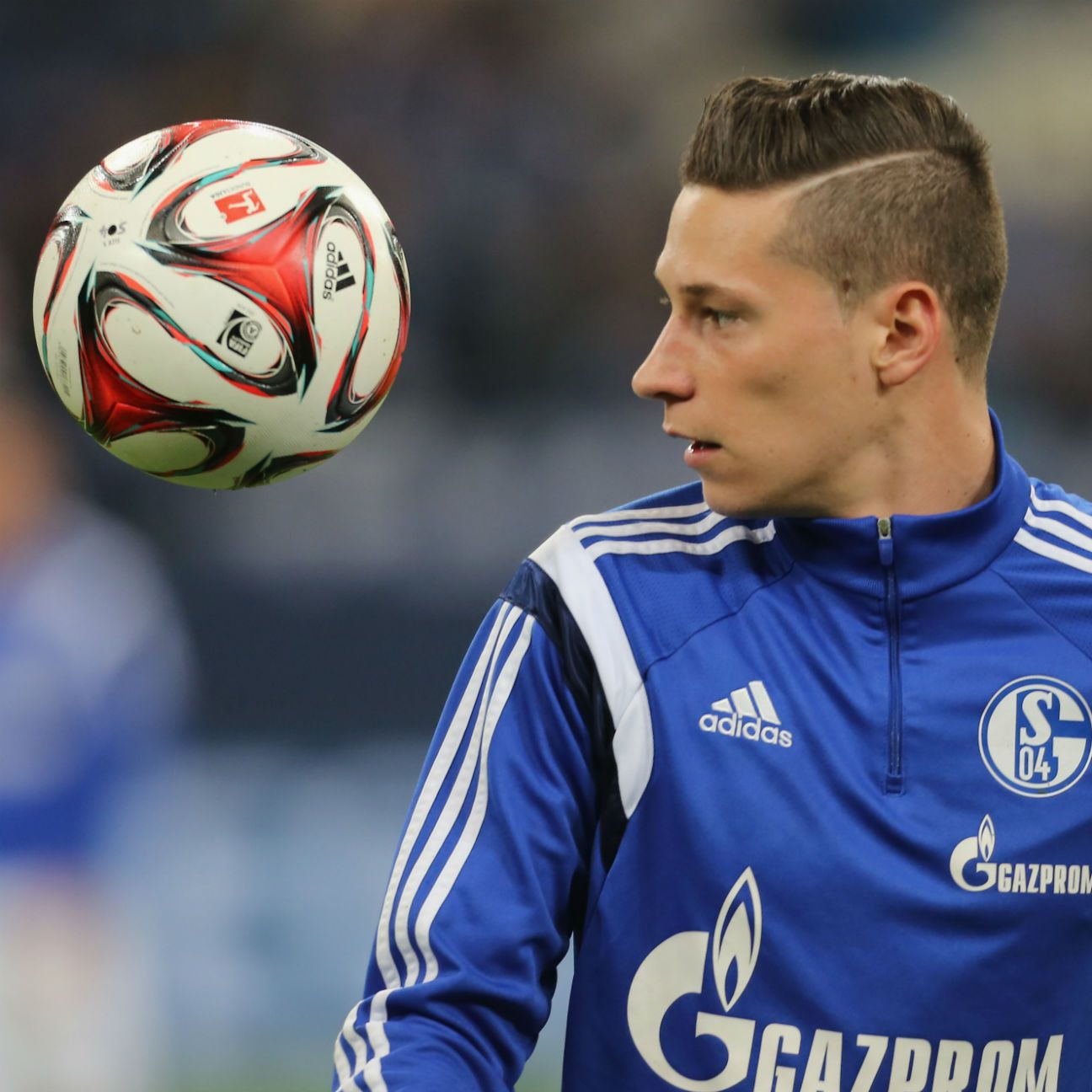 Julian Draxler appeared in 15 Bundesliga matches in 2014-15 for Schalke.
