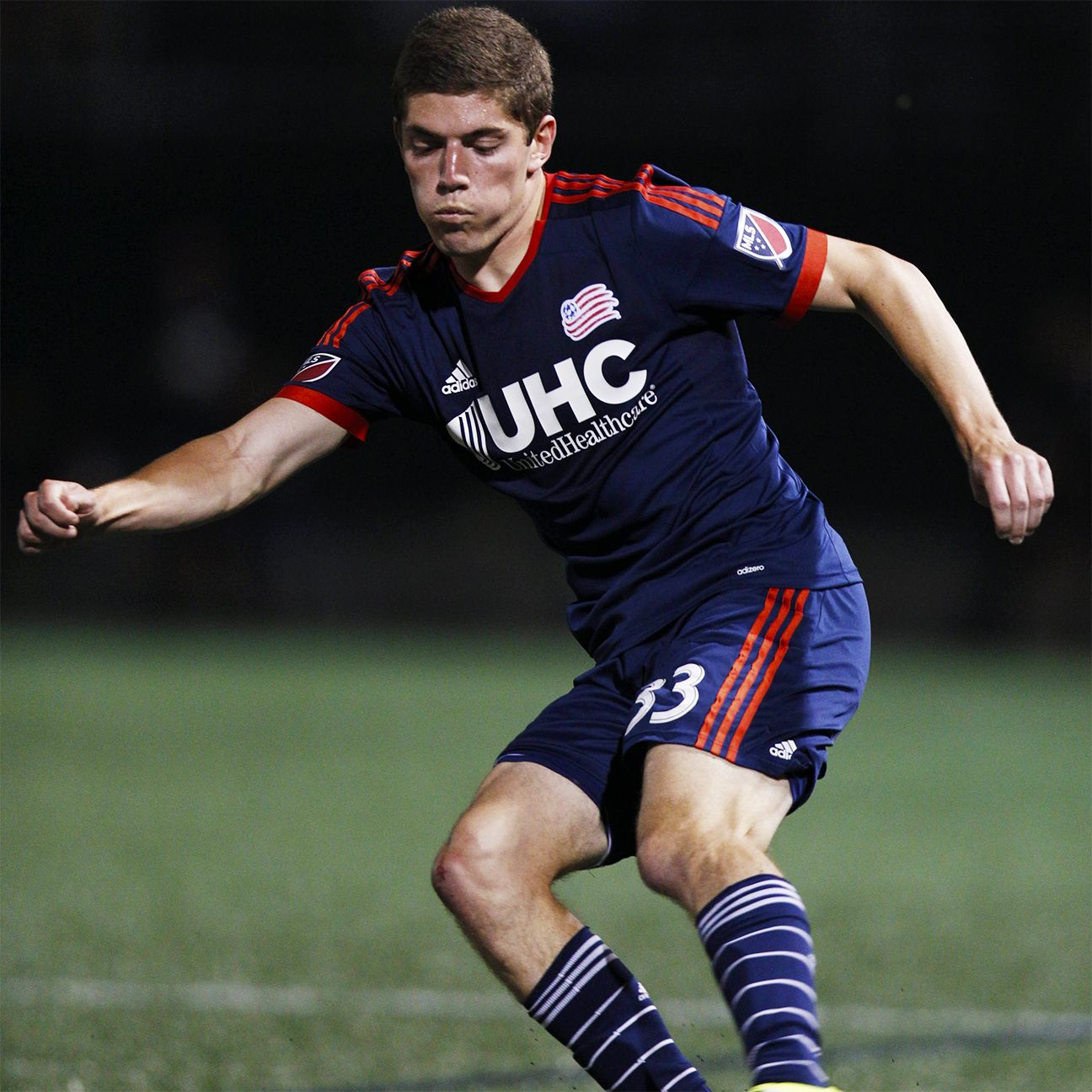 With the Revs especially thin at center back, coach Jay Heaps was forced to assign left midfielder/fullback Donnie Smith to the middle.