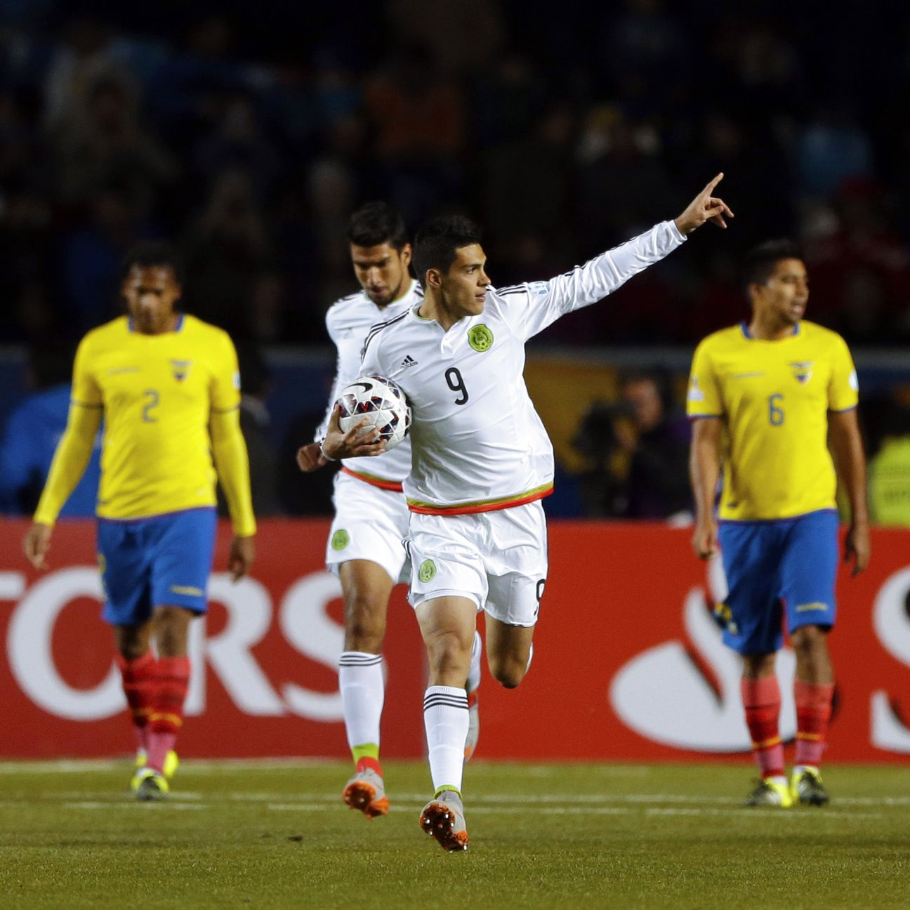 Raul Jimenez's penalty conversion gave Mexico a late glimmer of hope.