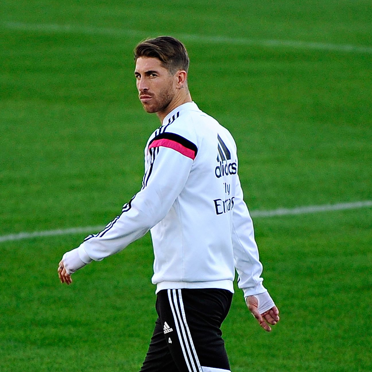 Sergio Ramos made 27 La Liga starts for Real Madrid in 2015-16.