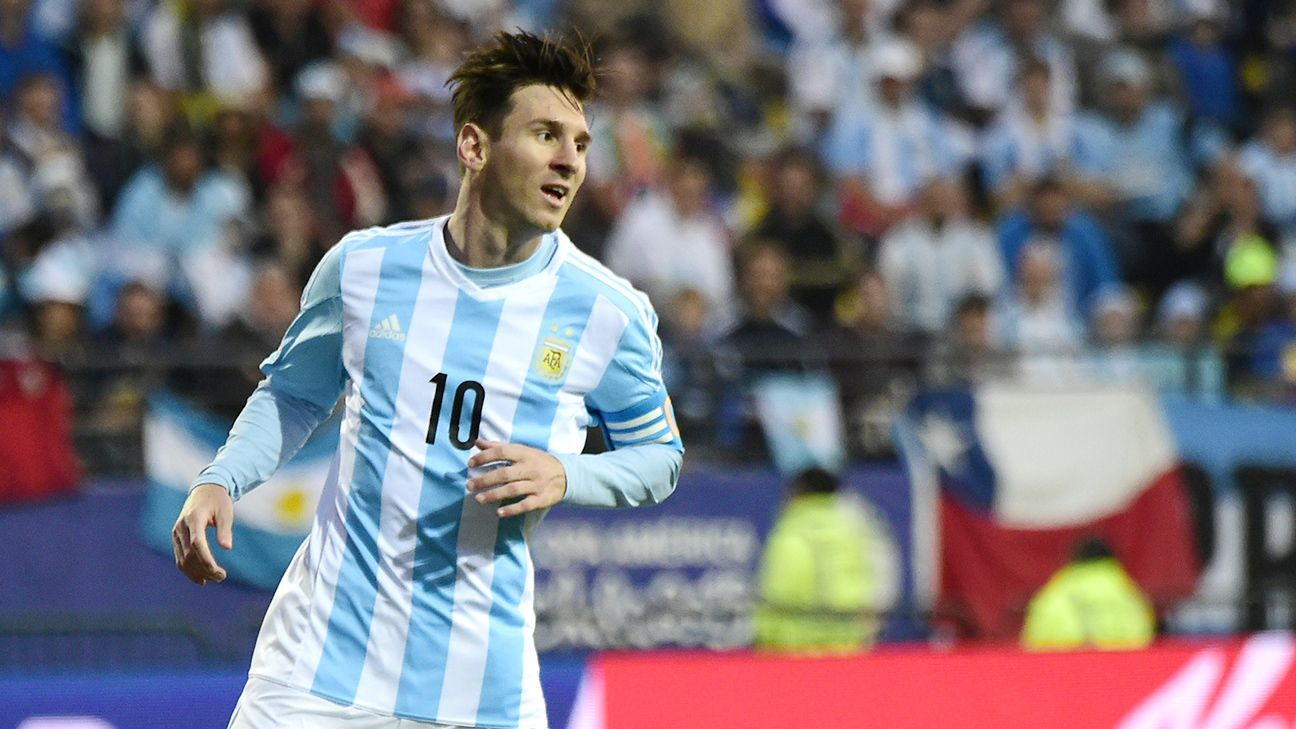 Lionel Messi is aiming to win his first major trophy with Argentina.