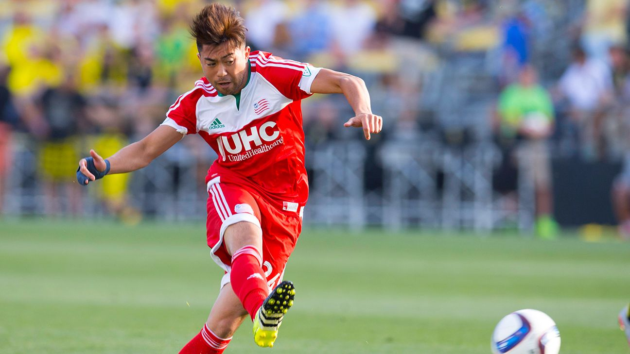 Lee Nguyen scored in the first minute, but it wasn't enough for the Revolution.