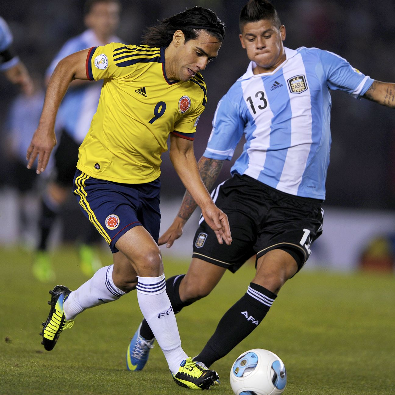 It remains to be seen if the struggling Radamel Falcao will get a crack at starting against Argentina on Friday.
