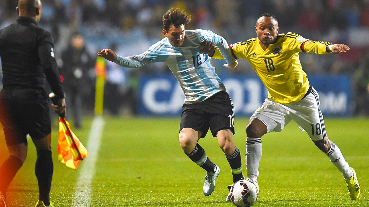 Lionel Messi can expect another physical opponent in Tuesday's semifinal versus Brazil or Paraguay.