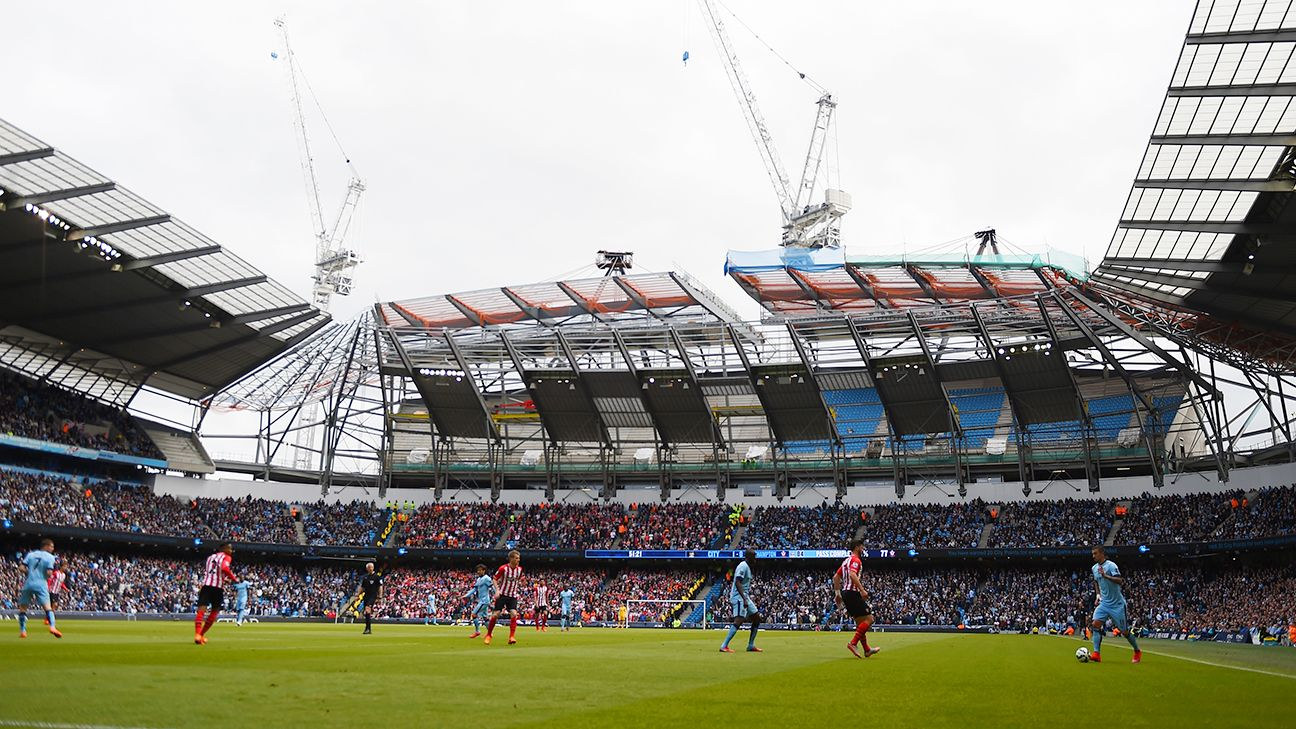 The Etihad will have a capacity of 55,000 by the time its expansion is complete.