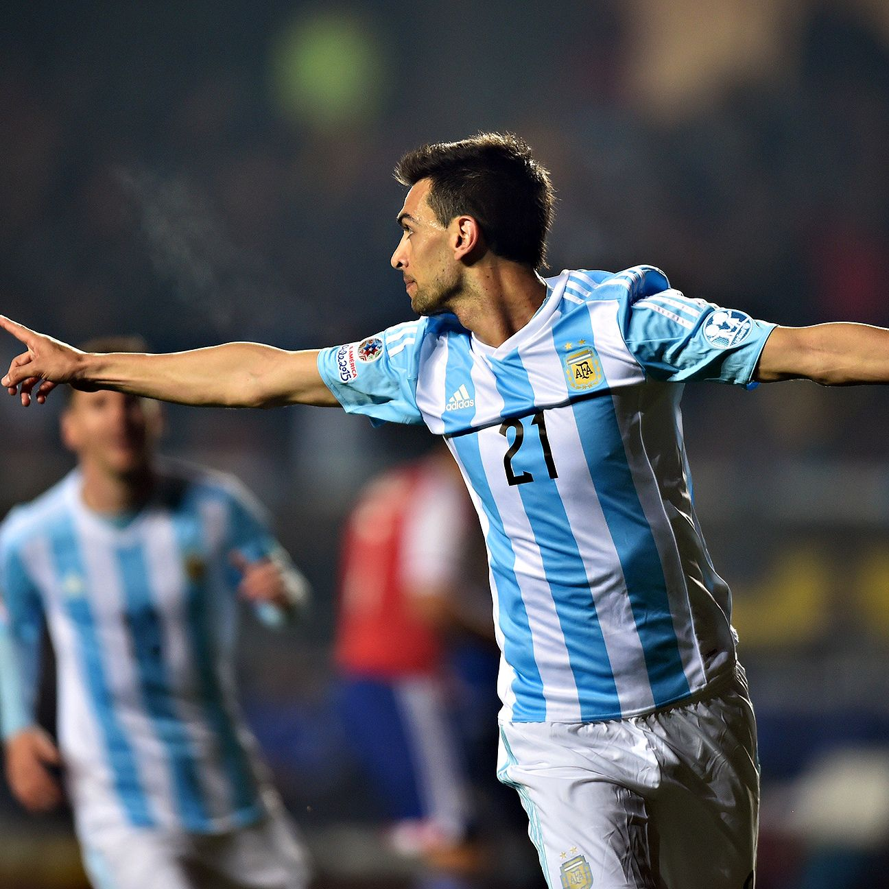 PSG midfielder Javier Pastore was an integral part of Argentina's run to the Copa America final.