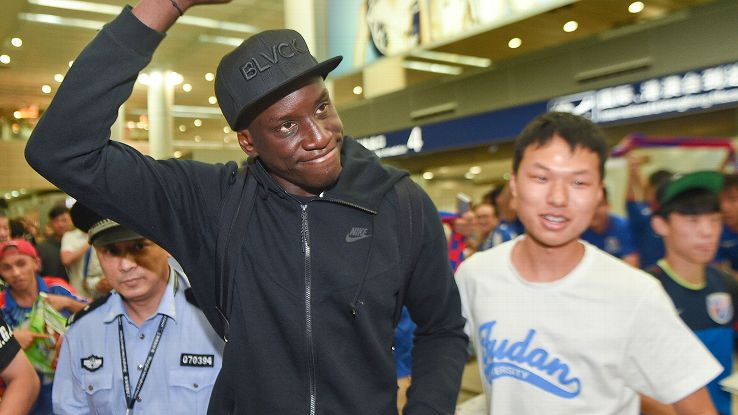Demba Ba is the latest player to seek success at Shanghai Shenhua.