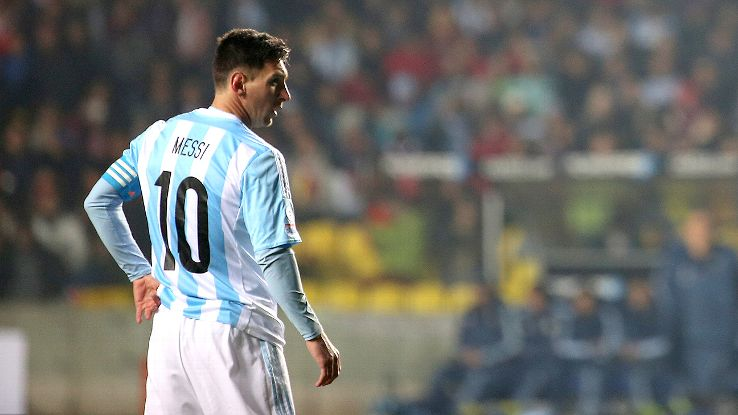 He may not have scored, but it was still Lionel Messi's night in Argentina's semifinal rout of Paraguay.