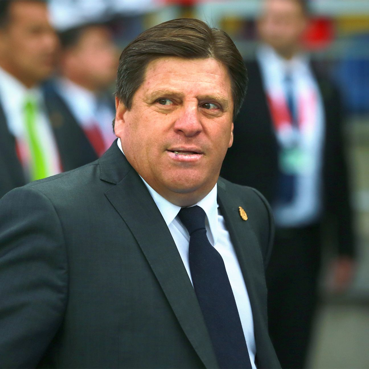 Miguel Herrera was sacked as Mexico coach two days after leading <i>El Tri</i> to the 2015 Gold Cup title.