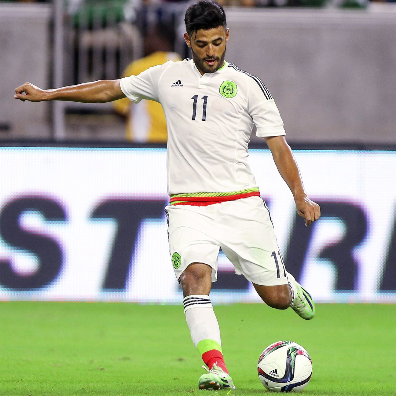 Outside of Carlos Vela's two shots off the post in the first half, Mexico offered very little in attack against the Hondurans.