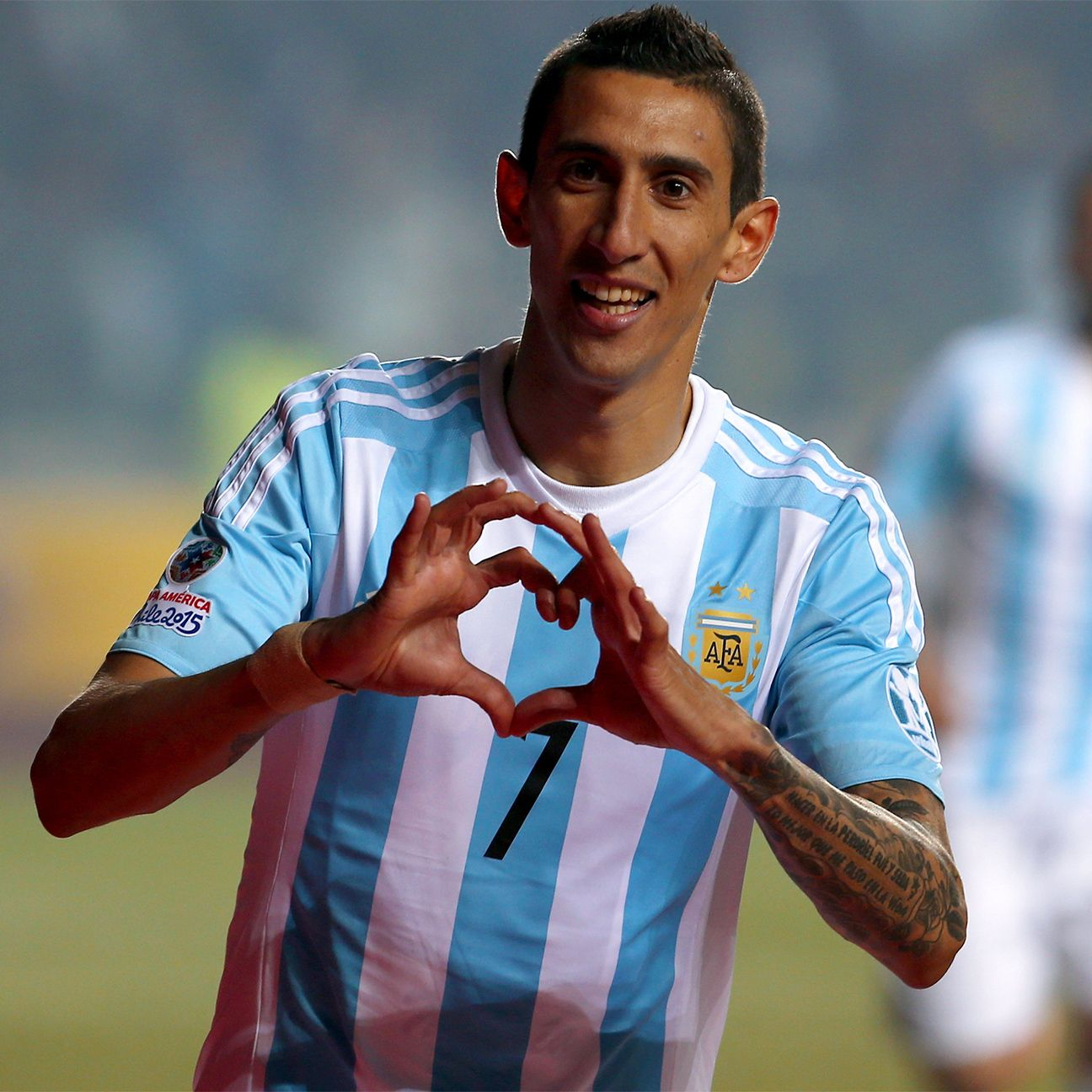 Andel di Maria helped lead Argentina's 6-1 romp over Paraguay in the Copa America semifinals with a second half brace.