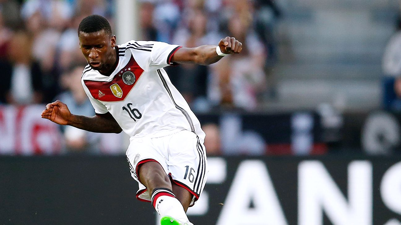 Tall, physical and composed in possession, Stuttgart's Antonio Rudiger has all the makings to be a great defender for Germany for years to come.