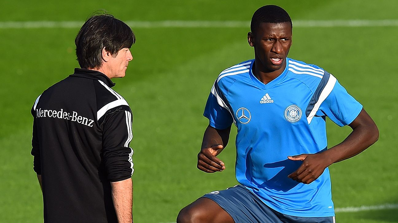 Rudiger will be looking to cement a place in Germany head coach Joachim Low's Euro 2016 squad.
