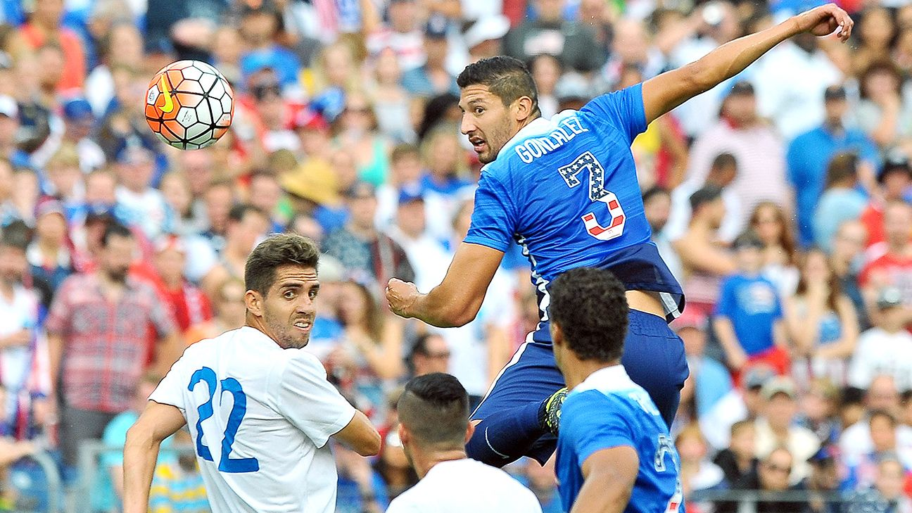 Omar Gonzalez is locked in a battle with Ventura Alvarado to start for the U.S. at center back.
