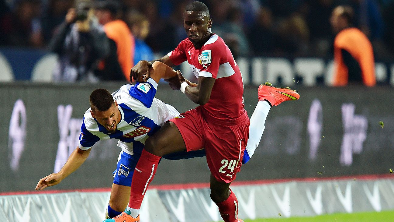 Rudiger returned from injury to help Stuttgart stave off relegation from the Bundesliga.
