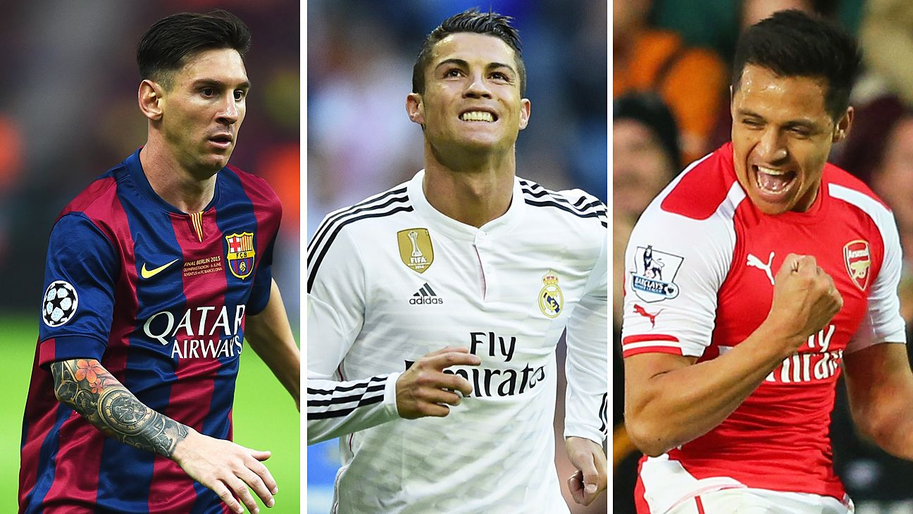 Lionel Messi, Cristiano Ronaldo behind Diego Godin for most minutes played