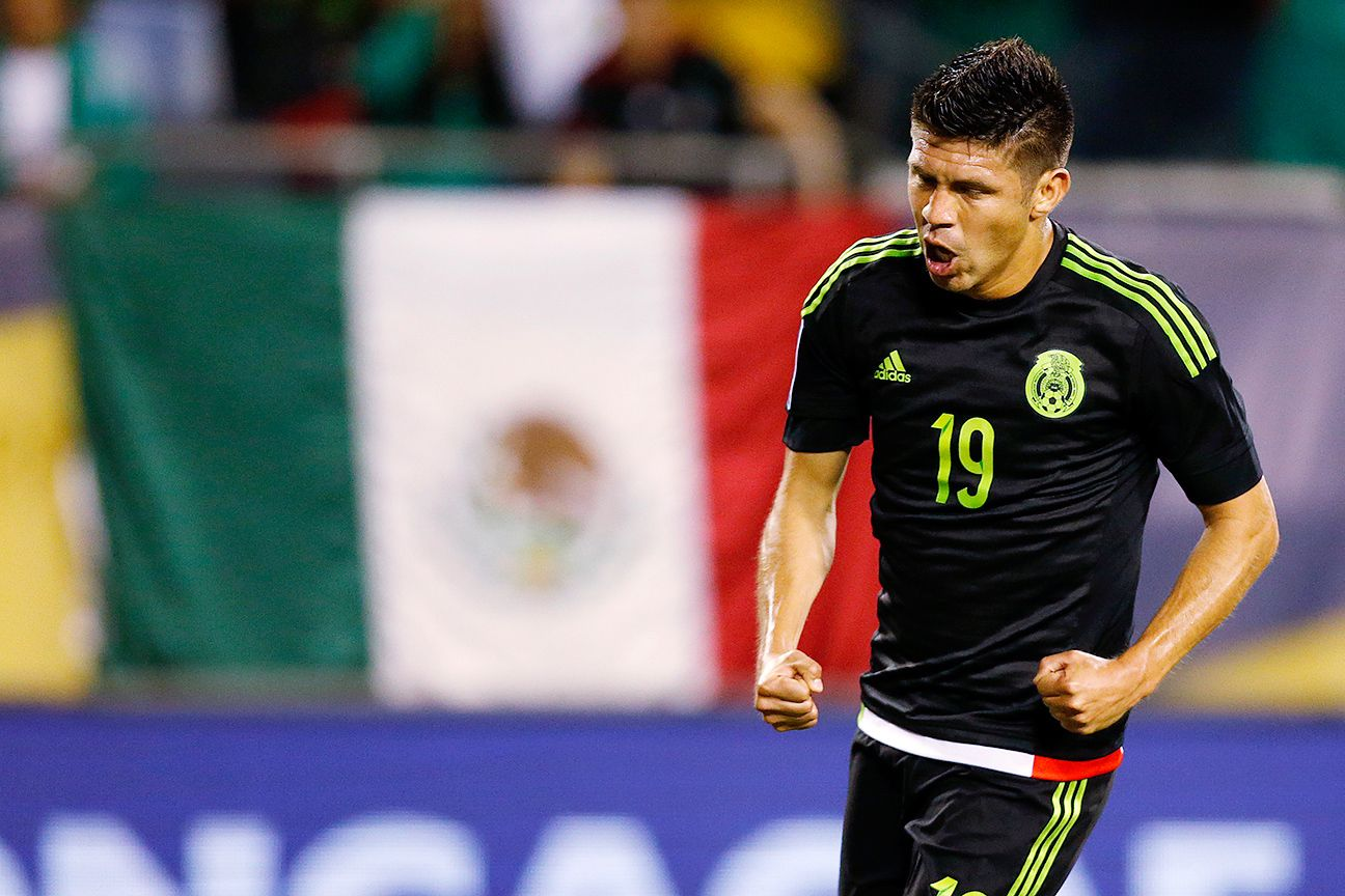 Chicharito Hernandez replacement Oribe Peralta answered the call with a hat trick against Cuba.