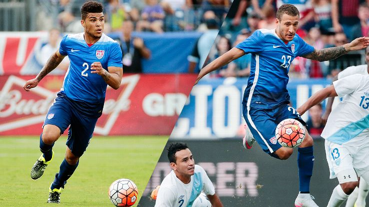 Both DeAndre Yedlin and Fabian Johnson have played multiple positions for the United States.