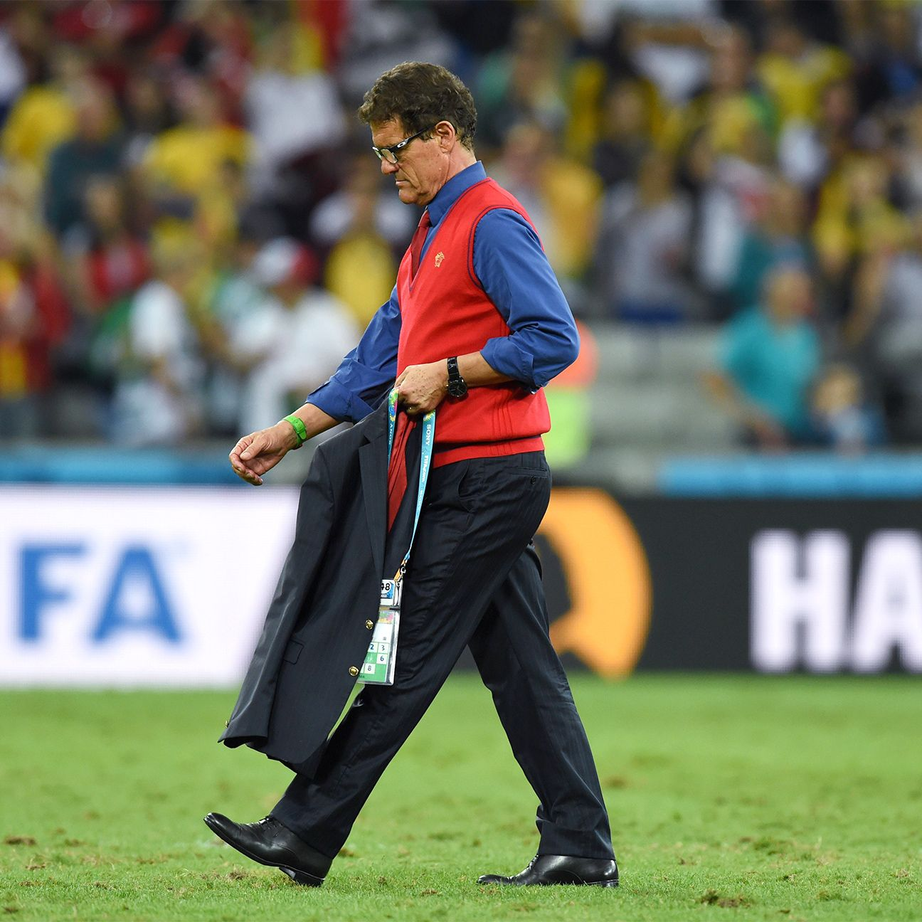 Fabio Capello's Russia failed to advance beyond the group stage at the 2014 World Cup.