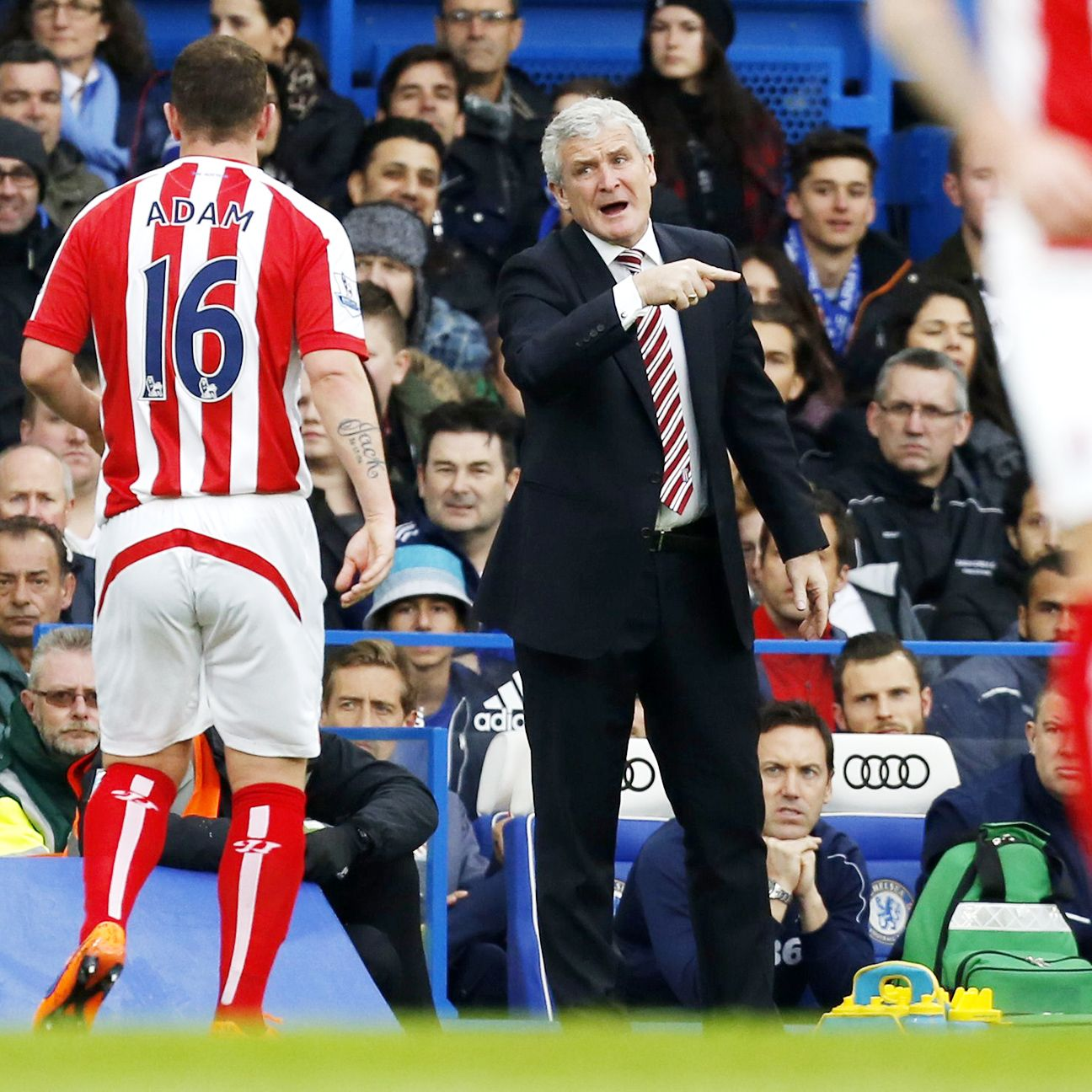 Mark Hughes has guided Stoke to two straight top-ten Premier League finishes.