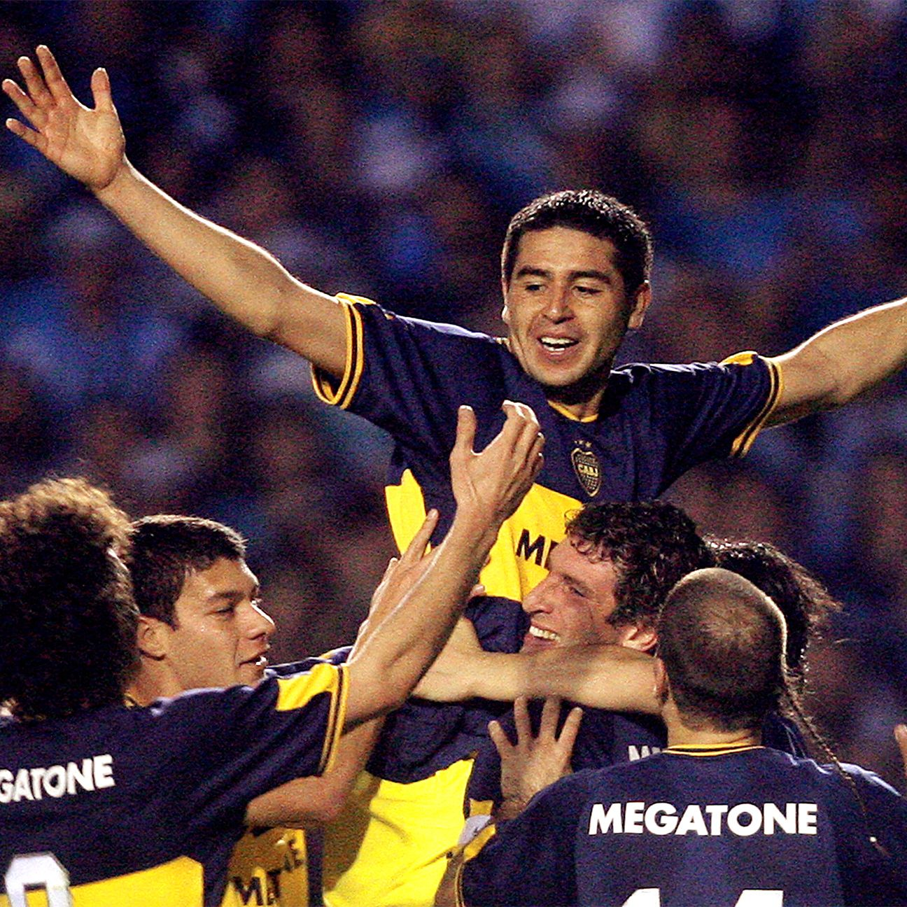 Juan Roman Riquelme guided Boca Juniors to Copa Libertadores glory in 2007 just a year after reaching the Champions League semifinals with Villarreal.