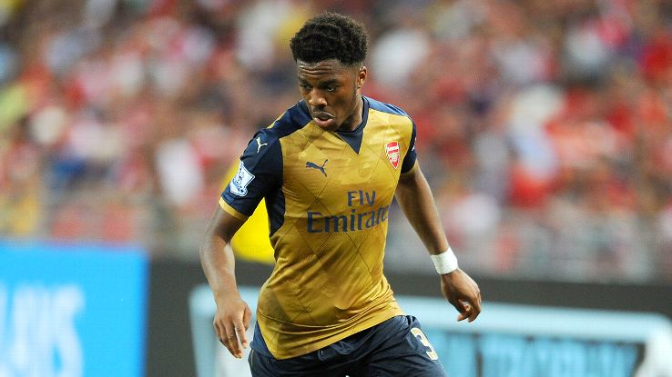 Forward Chuba Akpom, who starred in Arsenal's 4-0 preseason victory over the Singapore Select XI, appeared in just three Premier League matches in 2014-15.