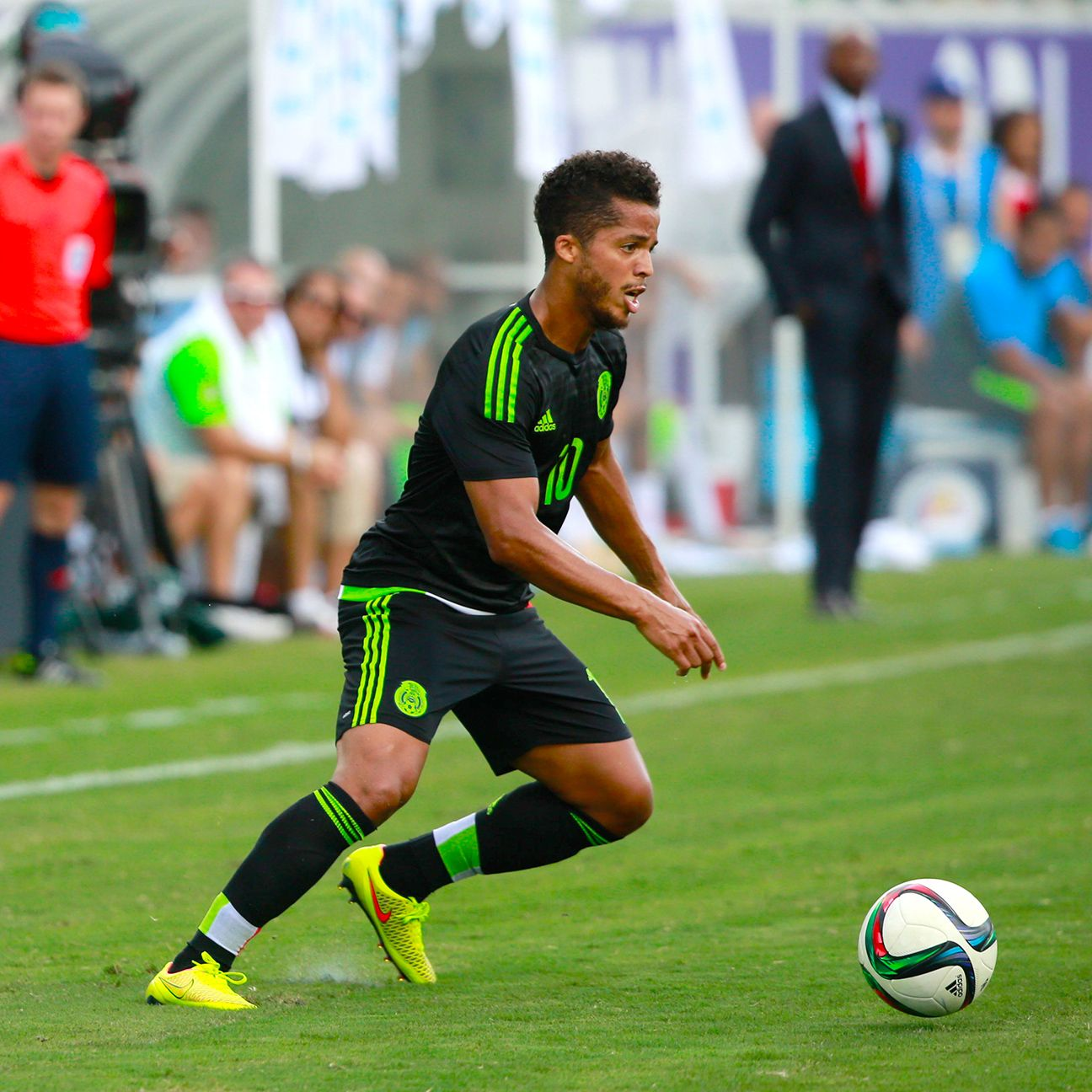 Giovani dos Santos helped Mexico claim the Gold Cup, but has not featured since with <i>El Tri</i>.