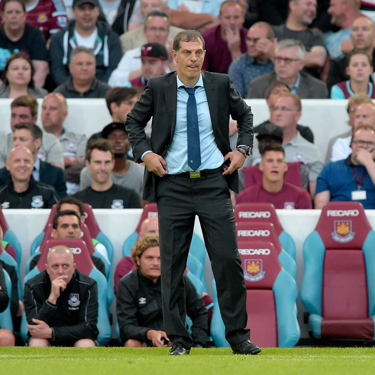 West Ham manager Slaven Bilic will be without his starting goalkeeper for the next three matches.