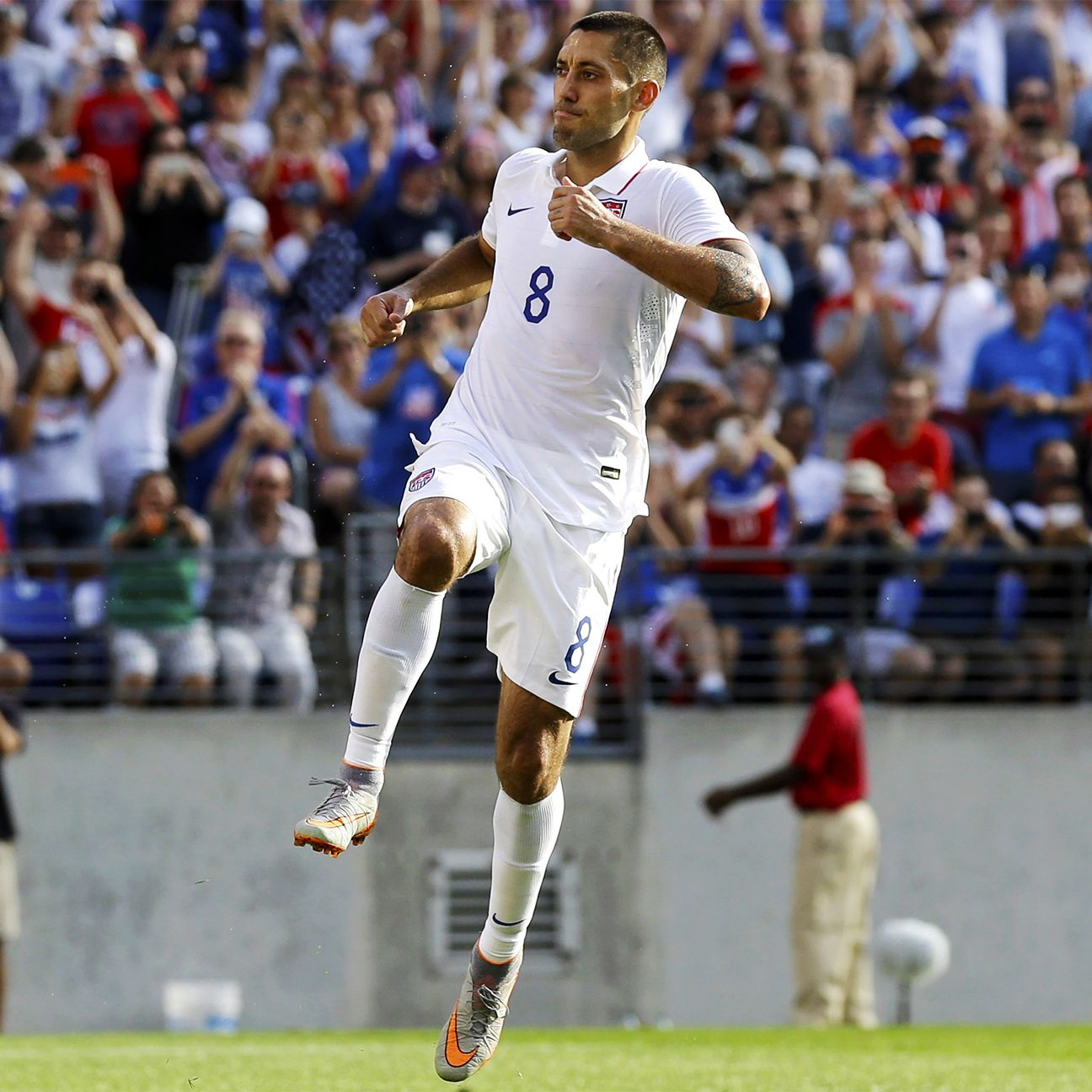 Clint Dempsey led all Gold Cup players in scoring, tallying seven goals for the U.S.