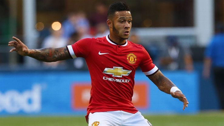 Memphis Depay was part of PSV Eindhoven for nine years until his move to Manchester United over the summer.