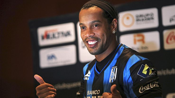 Ronaldinho has been out of action since late September when he reached a mutual agreement to terminate his contract with Brazilian club Fluminese.