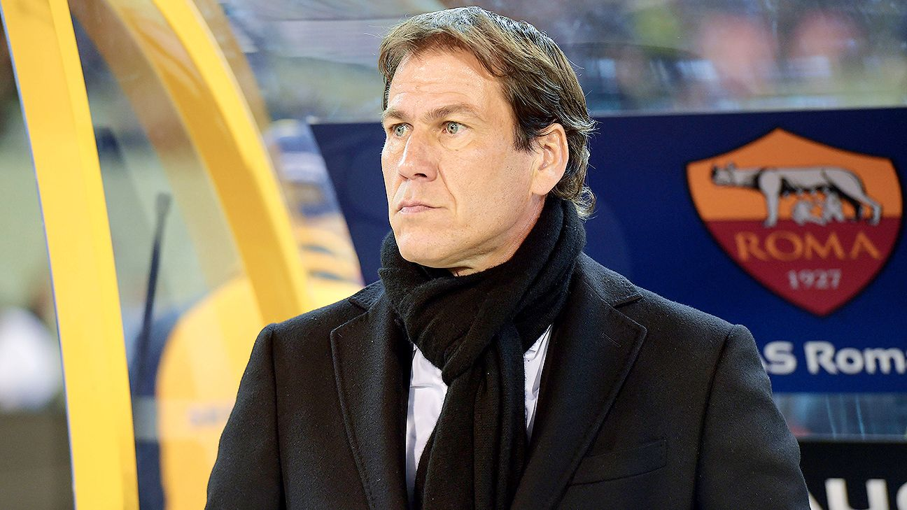 Rudi Garcia's first taste of the Champions League knockout round will be against 10-time winners Real Madrid.