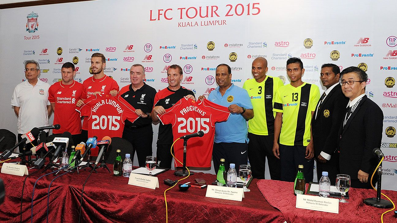Liverpool Preseason Tour  Fixtures