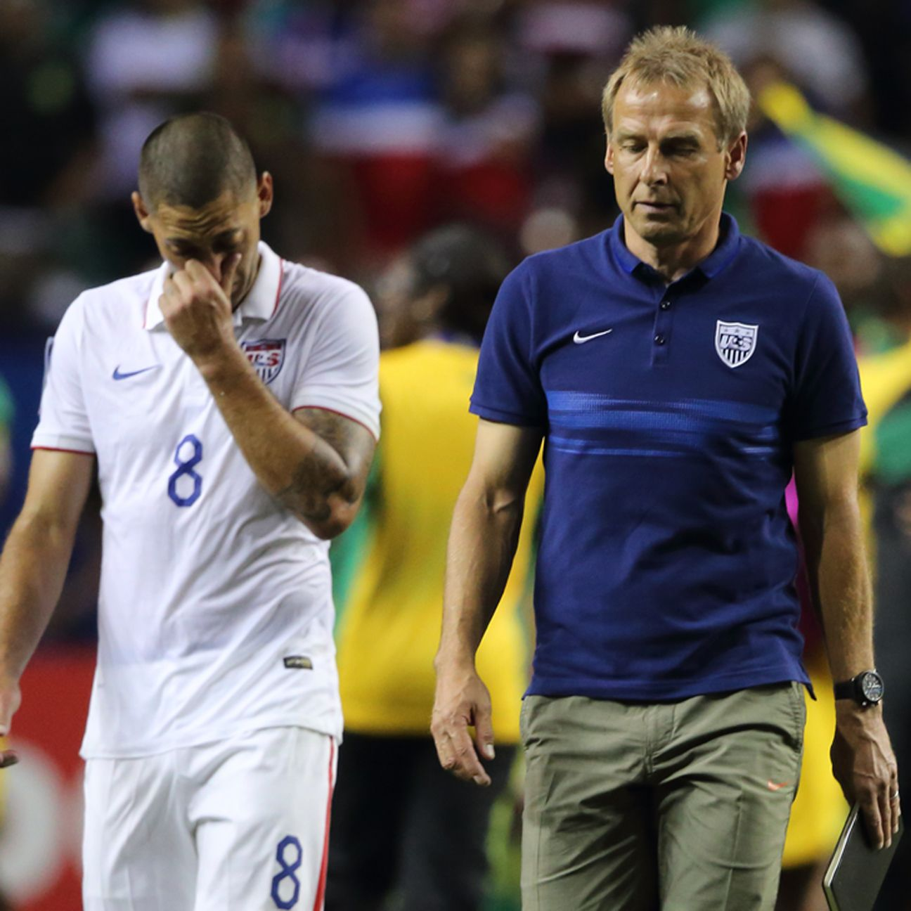 Despite being heavy Gold Cup favorites entering the knockout stage, the USMNT failed to reach the finals.