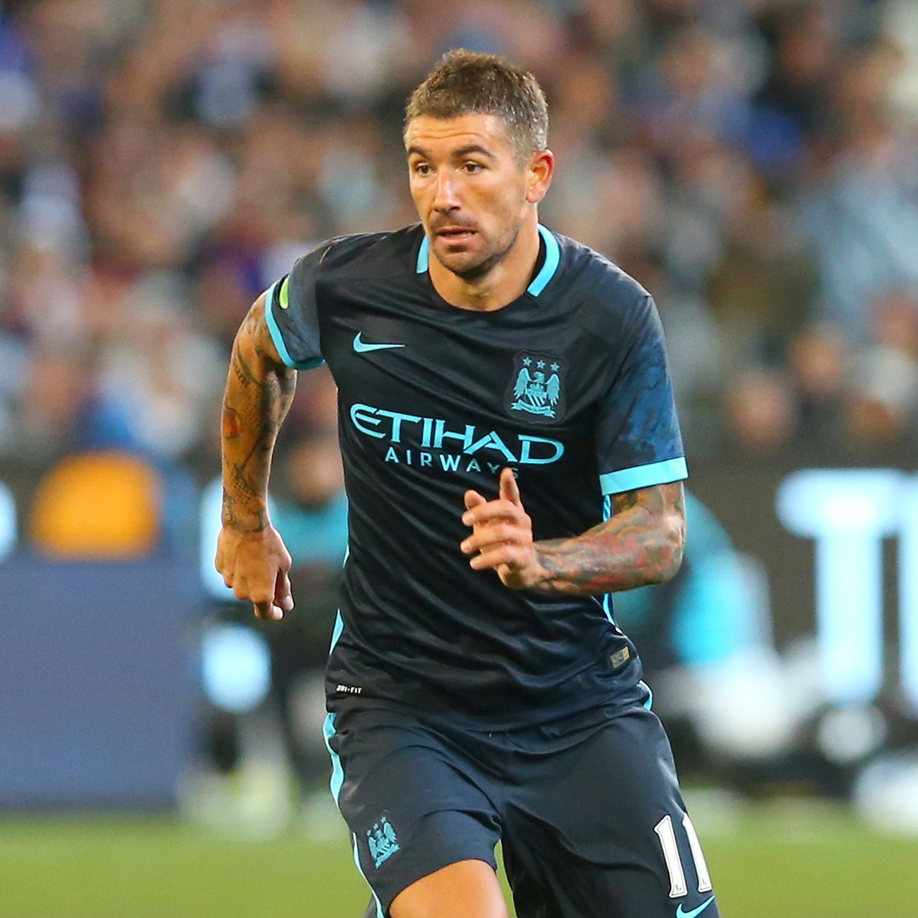 Aleksandar Kolarov and the Manchester City full-backs continue to struggle.
