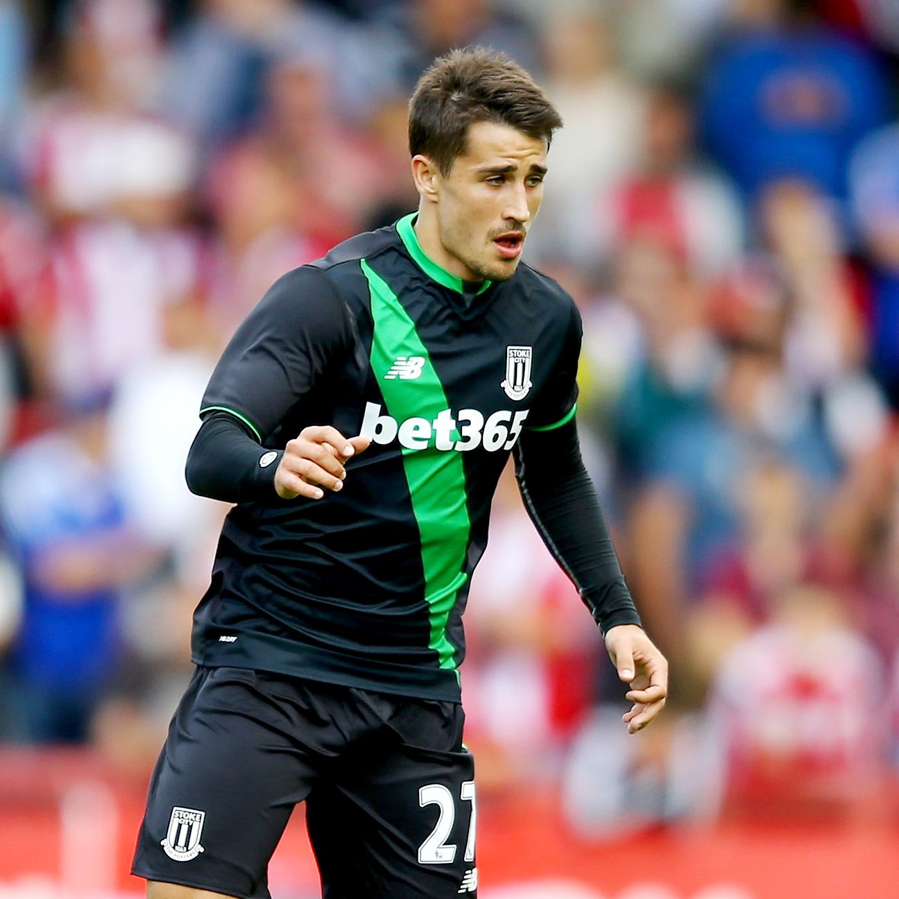 After a six-month injury layoff, Bojan Krkic is back in action for Stoke.